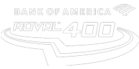 Bank of America Roval 400<br/>(1 color on black)