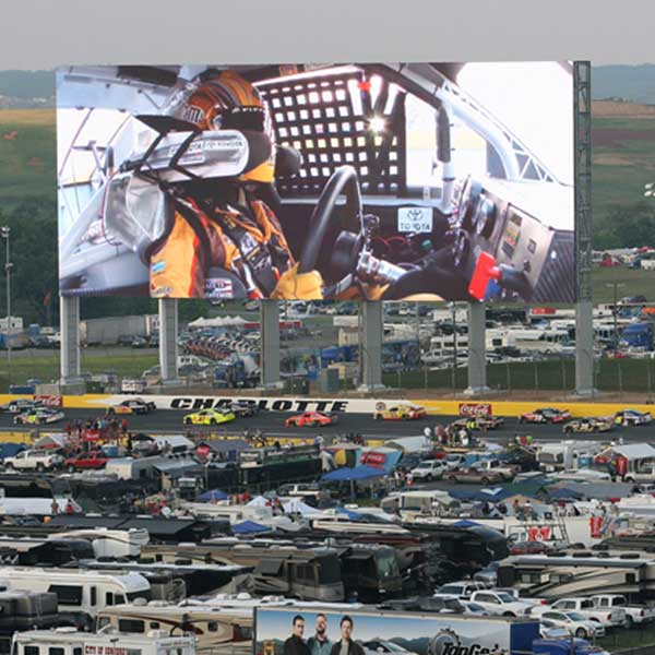 Company speedway motorsports for Camping at charlotte motor speedway