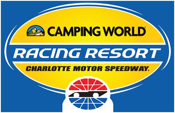 Charlotte motor speedway logos speedway motorsports for Camping at charlotte motor speedway